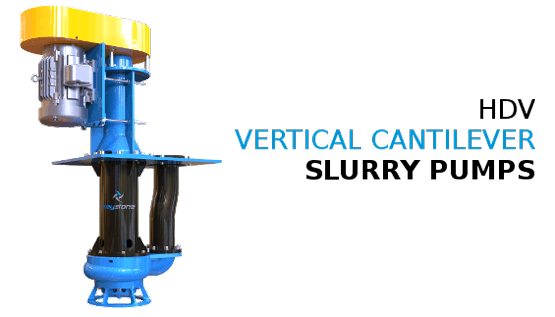 Keystone Vertical Cantilever Slurry Pumps for Sump Applciations
