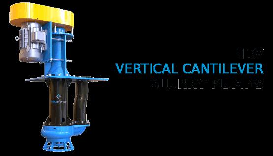 Keystone Vertical Cantilever Slurry Pumps for Sump Applciations