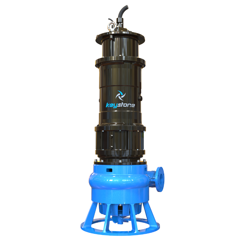 "Keystone HDS 100H 4"" Submersible Slurry Sump Pump"