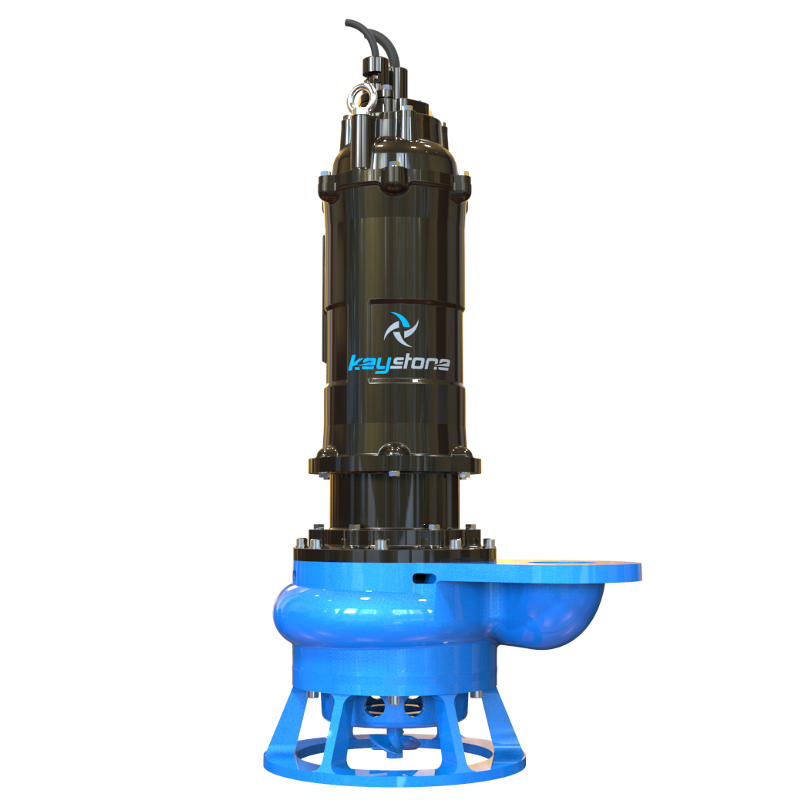 "Keystone HDS 100L 4"" Submersible Slurry Sump Pump"