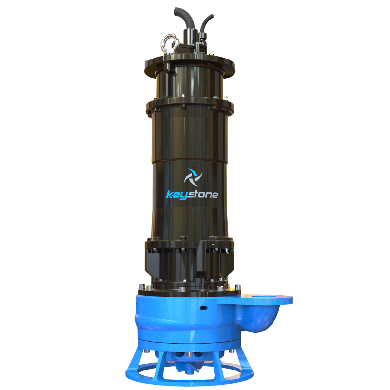 "Keystone HDS 100M 4"" Submersible Slurry Sump Pump"