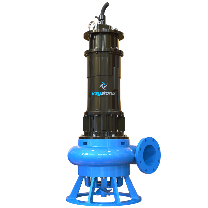 "Keystone HDS 200L 8"" Submersible Slurry Sump Pump"
