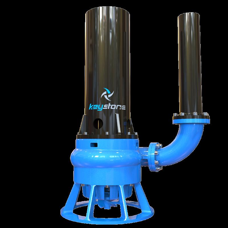 """Keystone HDV 100H 4"""" Cantilever Slurry Sump Pump"""