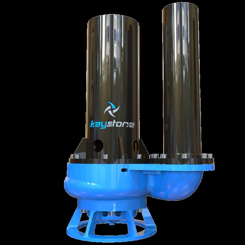 """Keystone HDV 150L 6"""" Cantilever Slurry Sump Pump"""