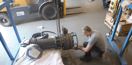 Keystone Pumps 100M Assembly